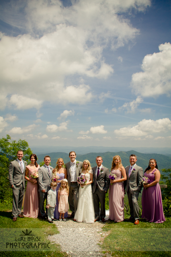 parkway wedding photo 3010 Blue Ridge Parkway Wedding