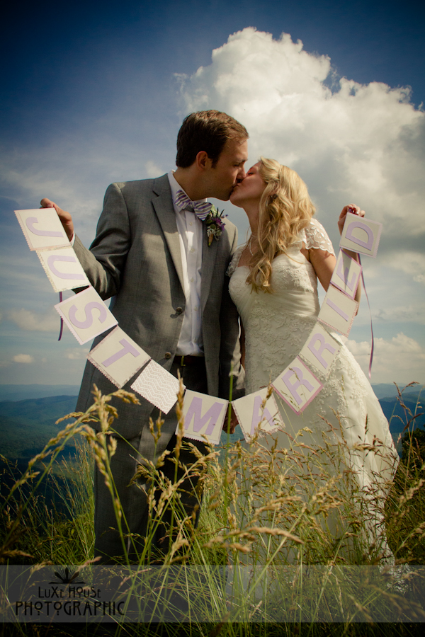 parkway wedding photo 3020 Blue Ridge Parkway Wedding