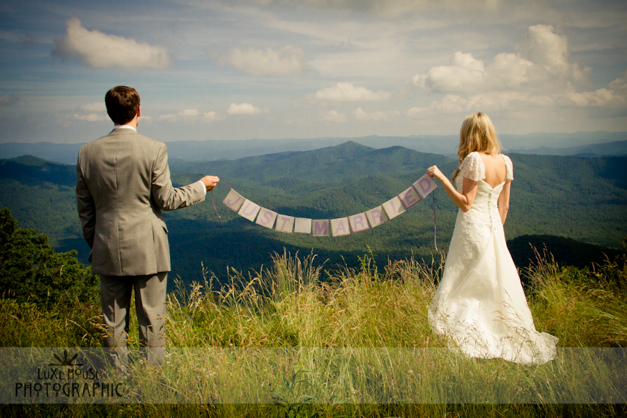parkway wedding photo 3021 Blue Ridge Parkway Wedding